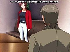 Anime Avsugning, Suge Tegnefilm Hentai Orgie