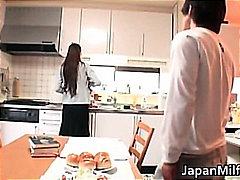 Asiático Japonês Madura Mamãe Sexy Japonês