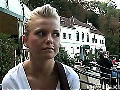 Amateur Tschechien Hausgemacht Pov Öffentlichkeit