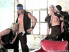 Ilus Blondid Neljakesi Grupikas Lesbi
