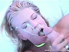 Компилация Празнене На Лицето Сперма Свършват