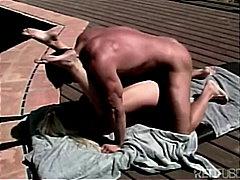 Blondid Suhuvõtmine Paar Masturbeerimine Õues
