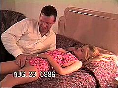 Amatør Blond Avsugning, Suge Par Tenåring