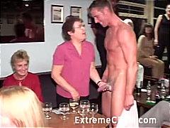 Ξανθιά Τσιμπούκι Γυμνό αρσενικό Ζευγάρι Πάρτι