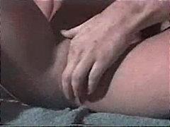 Blondid Paar Masturbeerimine Väiksed rinnad Suudlus