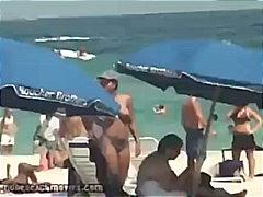 მოყვარული პლაჟი ბიკინი