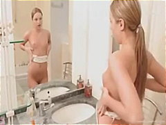 Blondid Masturbeerimine Pornostaar Õrn Seks Soolo