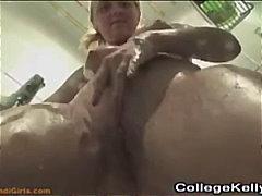 Amatöör Blondid Kodus Masturbeerimine Duši All