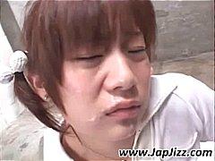 Aziatisch Pijpen Japans Sperma Zaad