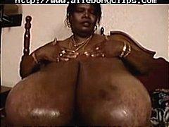 Ilusad Suured Naised Mustanahaline Seemnepurse Tõmmu Rassidevaheline