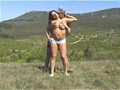 Compilation of hot outdoor scenes of pissing, sucking and fucking