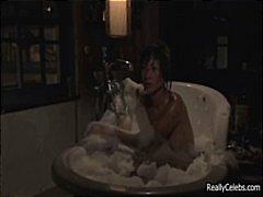 אסיאתיות מפורסמות מציאותי ציצים קטנים אמבטיה