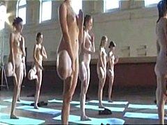 Myvidsrock4life's naked yoga