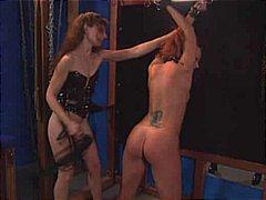 סאדו שעבוד חליפות גומי לסביות עבדים