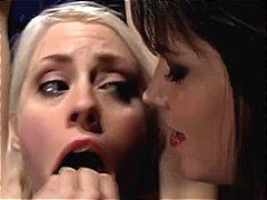 Bdsm Escravidão Dominação Lésbica Engasgo