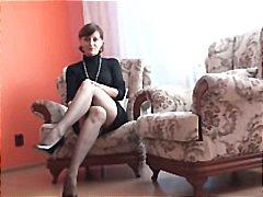 Под Сукња Мастурбација Високи Чорапи