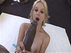 Sarah vandella takes a huge cock