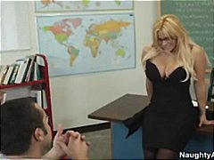 Shyla stylez huge tits bounce from fucking a student