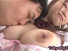 მოყვარული გოგონა იაპონელი ორგია