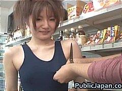 Asiatiques Pipes Interracial Japonais En Extérieur