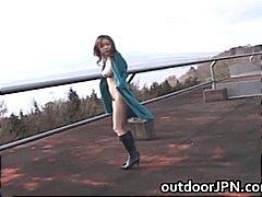 Asiatiques Chérie Pipes Japonais En Extérieur