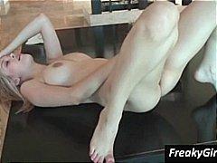 Amatöör Orgasm Tussu Soolo Masturbeerimine