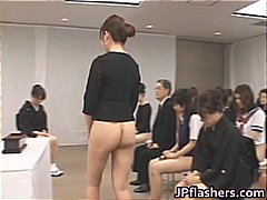Asian girls go to church half nude part5
