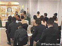 Amatur Orang Asia Berlainan Kaum Orang Jepun Luar Rumah