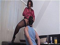 Ženska Dominacija Lizanje