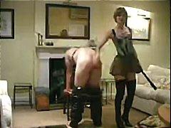 Ženská dominancia Plácanie po zadku