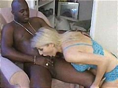 Interracial Blonde