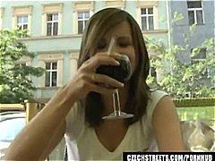 素人 フェラチオ 褐色美人 チェコ人 ヨーロッパ人