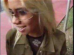 Blondinka Fafanje Hardcore Koščena