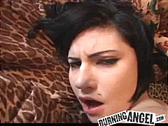 Felace Brunetky Vyvrcholení Sperma V Obličeji Hardcore