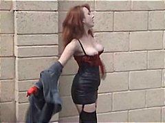 Brytyjczycy Dojrzałe Atrakcyjne Starsze Kobiety Nylon Rudzielcy