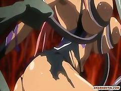 Animacija Djevojka Hentai Grudi Velike Sise
