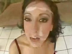 חובבניות גמירה על הפנים