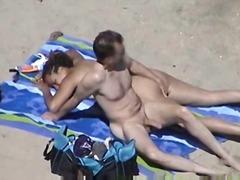Amaterji Na plaži Dekle drka tiča
