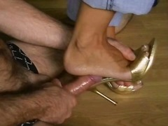 חובבניות פטיש כפות רגליים