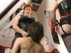 Анални Женска доминација Дилдо со колан