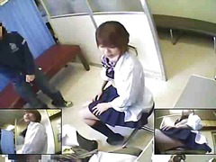 Medical exam asian
