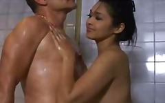 Sensual thai soapy massage