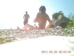 חוף איטלקיות מצלמה נסתרת