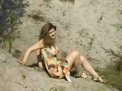 חוף חזה גדול צעירות