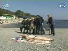 חוף מצחיק ציבורי