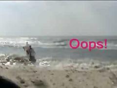 חוף מצלמה נסתרת ציבורי