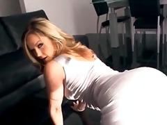 Babe Stor Rund Rumpe Blond Pornostjerne Mykporno