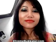 בולעות גמירה על הפנים