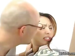 Spermadusche Haarig Japanisch