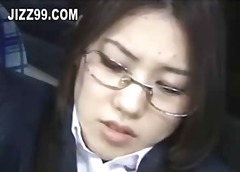 აზიელი იაპონელი ლედი ოფისი